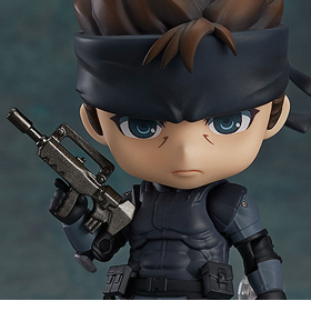 METAL GEAR SOLID NENDOROID NO.447 SOLID SNAKE