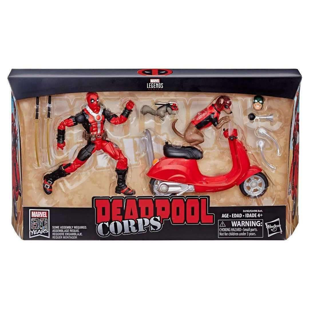 Image of Marvel Legends Deadpool with Dogpool and Scooter - Q1 2019
