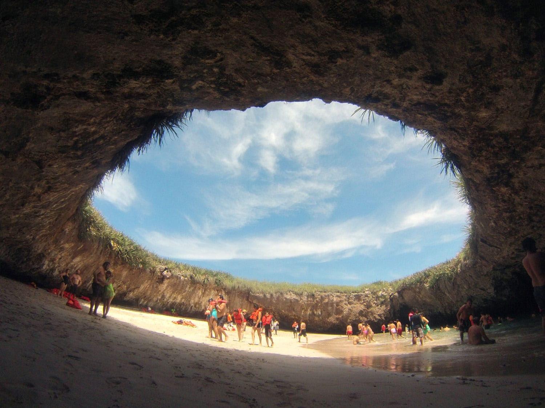 Meksika'da Gizli Plaj