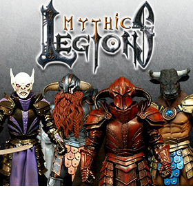 MYTHIC LEGIONS FIGURES AND ACCESSORIES