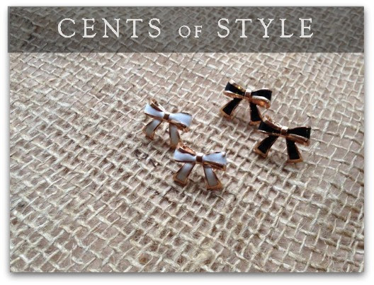 IMAGE- Fashion Friday Upsell- Bow Stud Earrings- $1.99