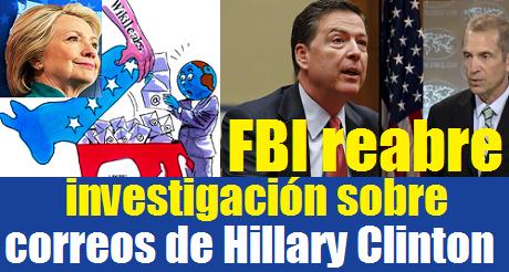 fbi-reabre-investigacion-sobre-correos-de-hillary-clinton