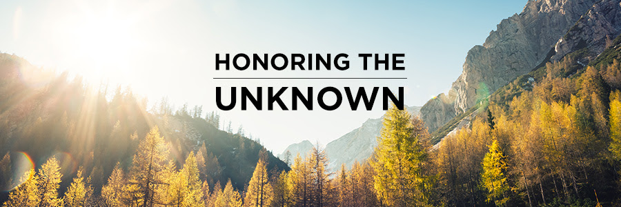 Honoring the unknown