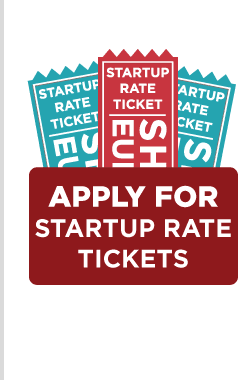 Apply for Startup Rate Tickets