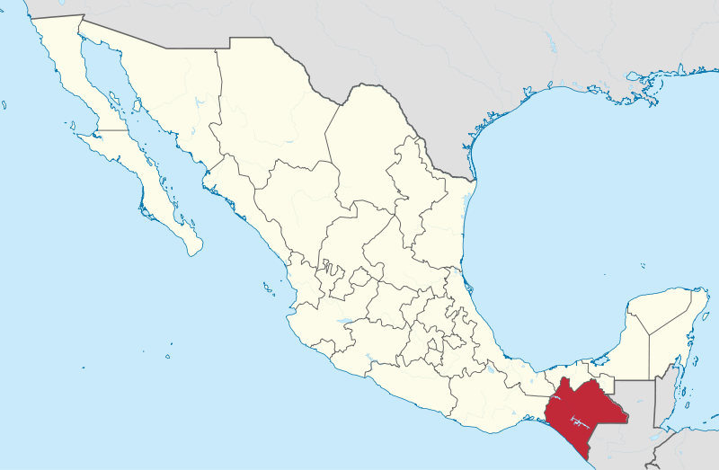 Chiapas, Mexico. (Wikipedia)