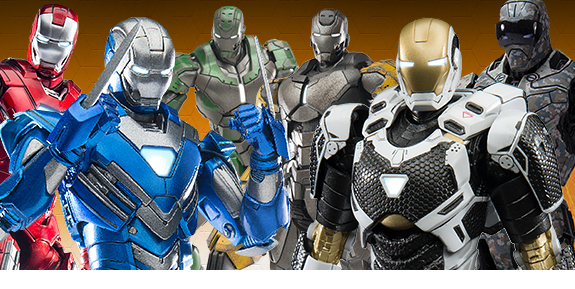1/12 SCALE SUPER ALLOY IRON MAN FIGURES
