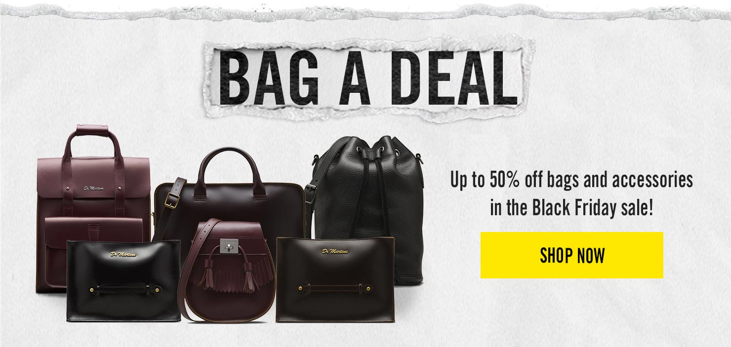 BAG A DEAL - Up to 50% off bags in our Black Friday Weekender - Shop Now