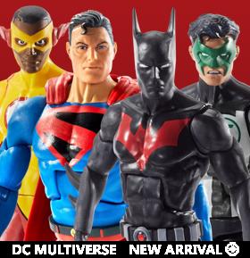 DC COMICS MULTIVERSE WAVE 10 SET OF 4 FIGURES (C&C LOBO)