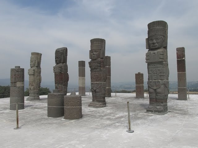 "The Ancient ""Atlantean"" Stone Warriors Of Tula In Mexico  Sddefault"