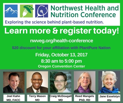 FB post NW Health and Nutrition Conference 2017