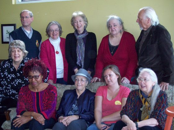 Several members of The Ontario Poetry Society read during a Sunday, October 25, 2014 reading in Ottawa.