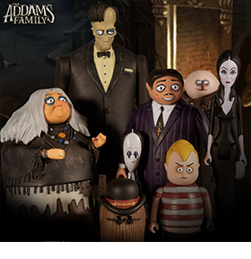 The Addams Family 5 Points