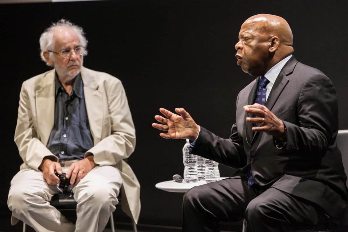 Representative John Lewis in conversation with Danny Lyon at the Whitney, 2016