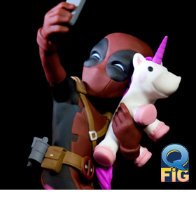 MARVEL DEADPOOL Q-FIG #UNICORNSELFIE