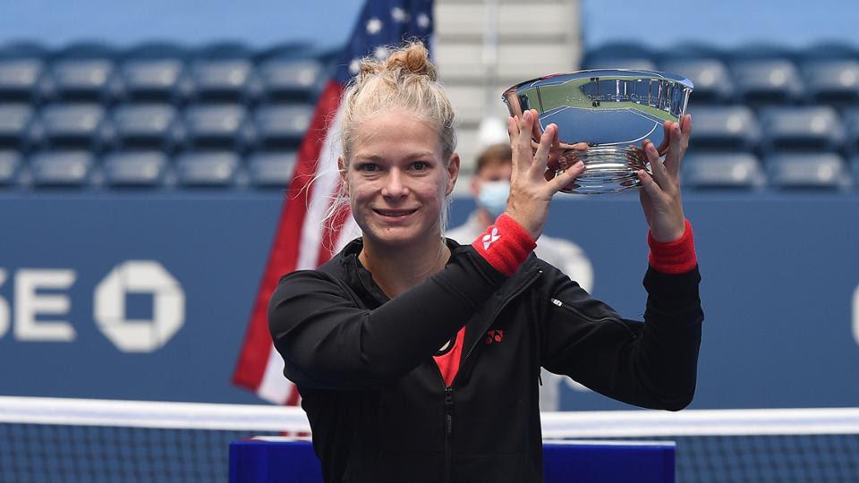 Diede de Groot wins the US Open. Photo: Facebook Diede de Groot
