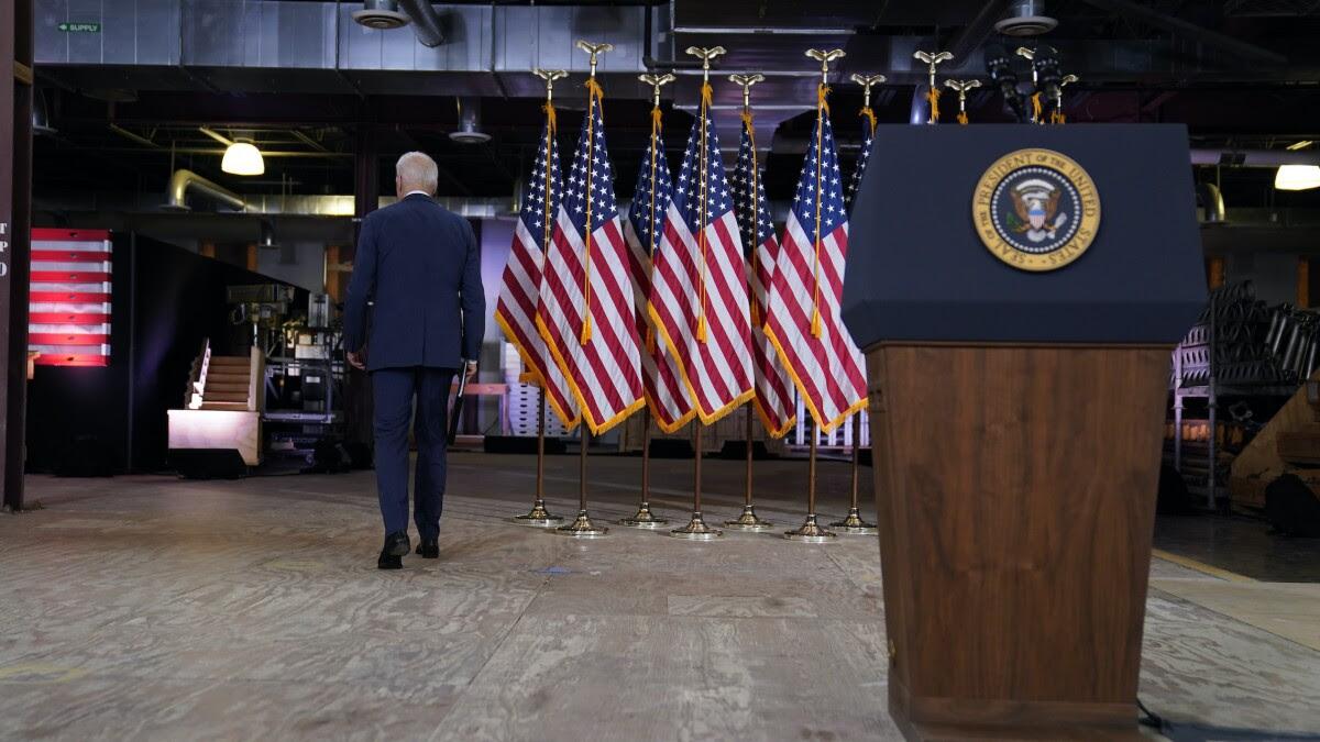 Biden's twofer 'infrastructure' approach could doom both bills