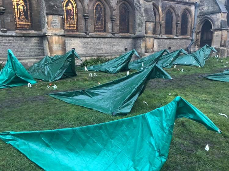 CamCRAG's SOS tents