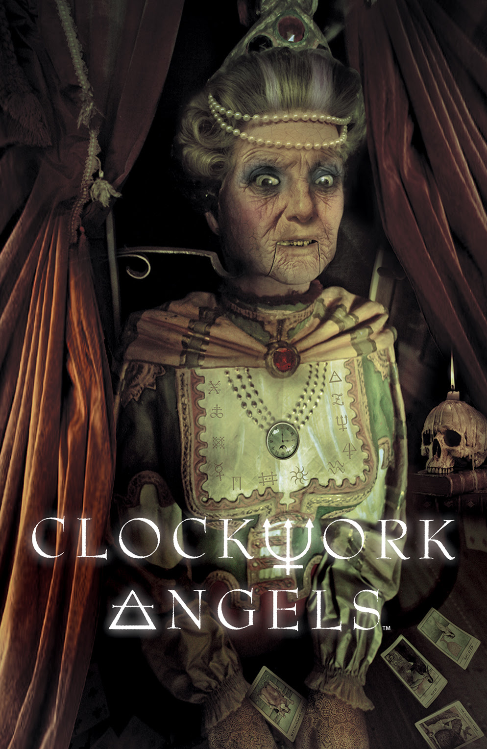 CLOCKWORK ANGELS Cover by Nick Robles