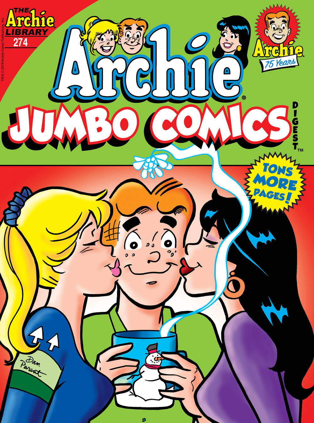 Archie Jumbo Comics Digest #274 Cover