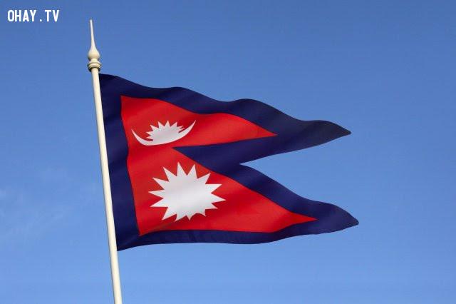 5. Nepal,ý nghĩa quốc kì,lá cờ của các nước,những điều thú vị trong cuộc sống