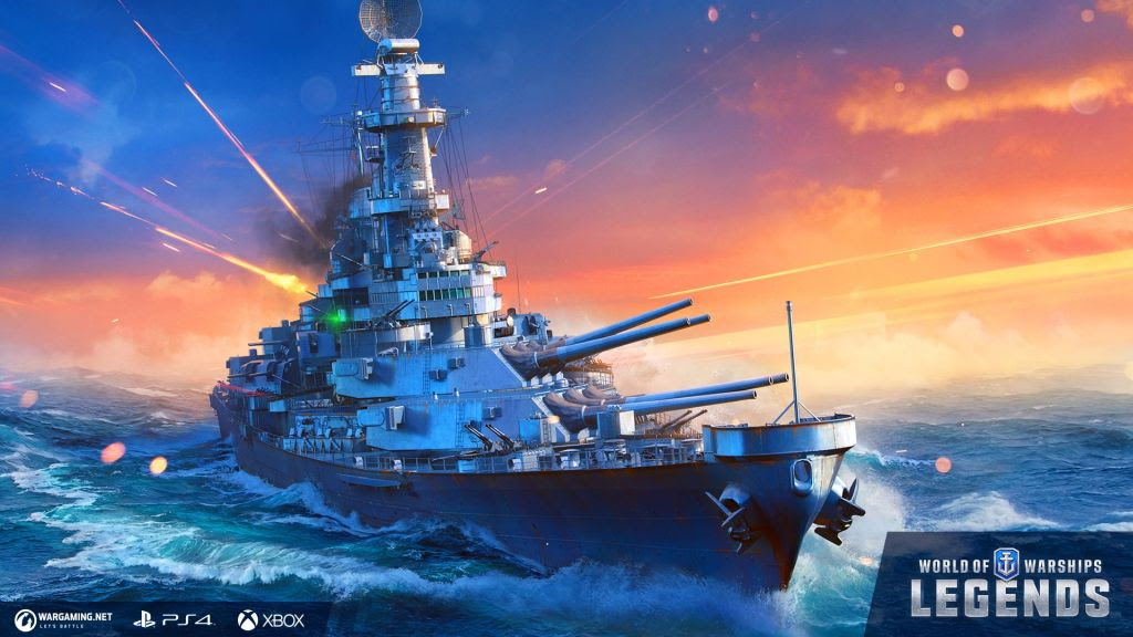 Warships Legends Key Art