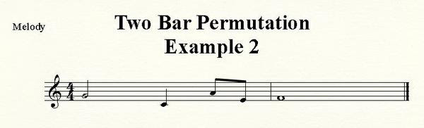 Two Bar Inversion One Octave Up