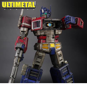 ULTIMETAL UN-01B OPTIMUS PRIME (BATTLE DAMAGED)