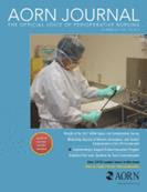 Latest cover of AORN Journal (2007-2017)