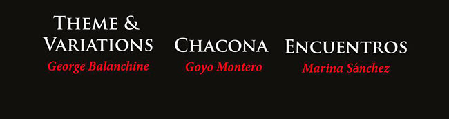 Theme & Variations, Chacona, Encuentros