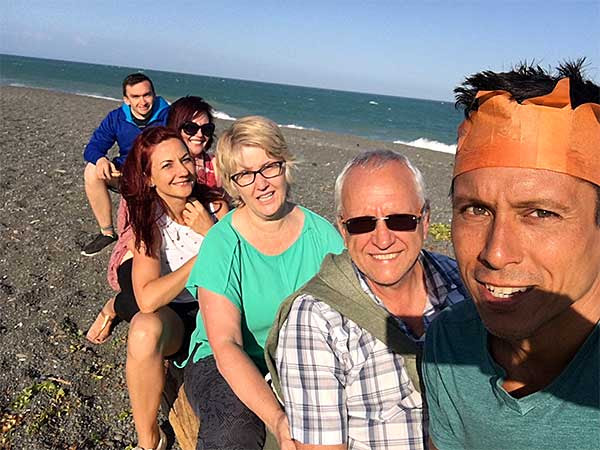 Napier Holiday Pic