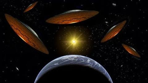 Spaceships All Around Earth - Massive UFO War Above Us!