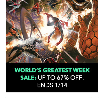 World's Greatest Week Sale: up to 67% off! Sale ends 1/14.