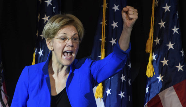 Sen. Elizabeth Warren, D-Mass. has become an obstructionist and hypocrite in her fight against President Trump.