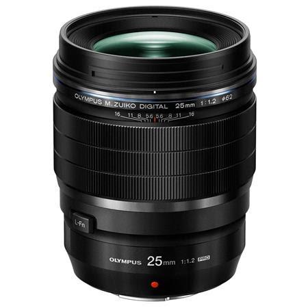 M. Zuiko Digital ED 25mm f/1.2 PRO Lens, for Micro Four Thirds System, Black