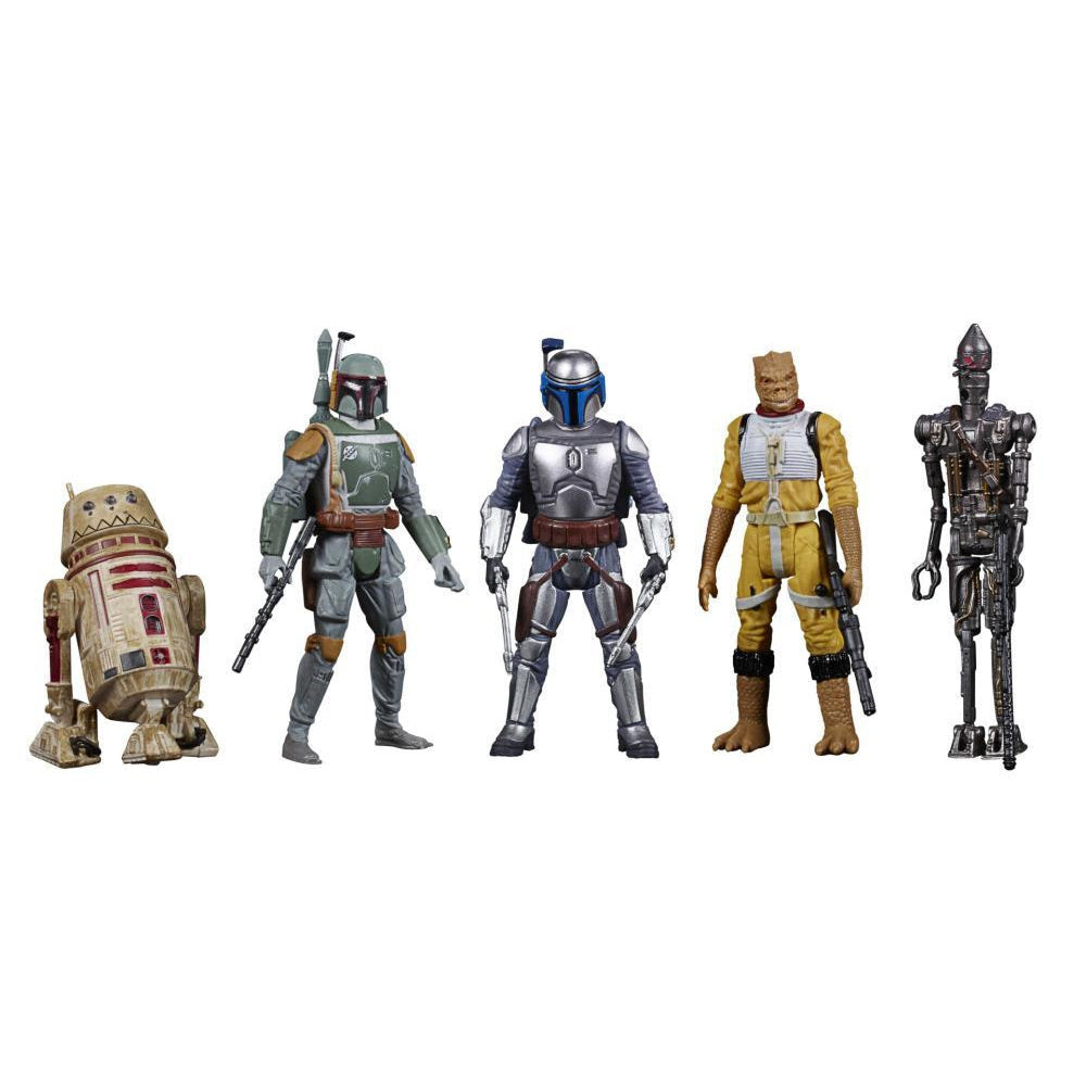 Image of Star Wars Celebrate the Saga Bounty Hunters 3 3/4-Inch Action Figure Set - OCTOBER 2020