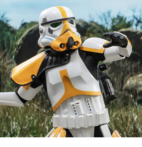 The Mandalorian TMS047 Artillery Stormtrooper 1/6th Scale Collectible Figure