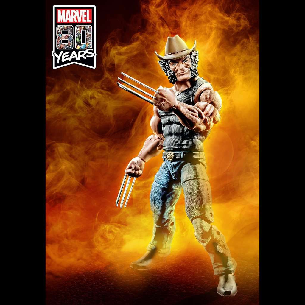 Image of X-Men Marvel Legends 6-Inch Cowboy Logan Action Figure - Exclusive