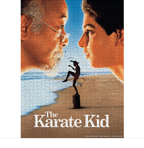 The Karate Kid Movie Poster 1000-Piece Puzzle