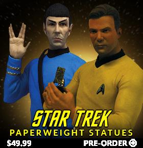 STAR TREK: TOS PAPERWEIGHT STATUES