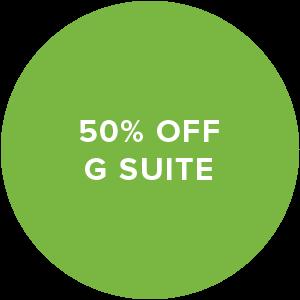 50% off G Suite