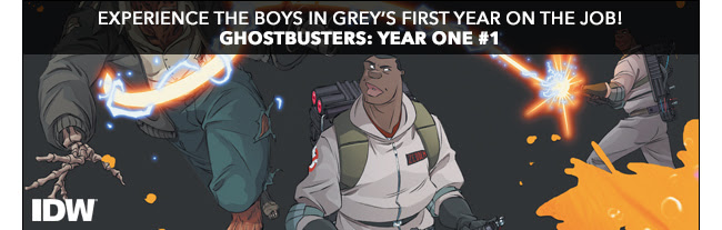 Experience the Boys in Grey's first year on the job! Ghostbusters: Year One #1.