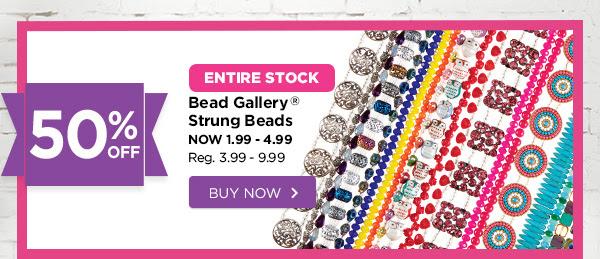 Bead Gallery Strung Beads