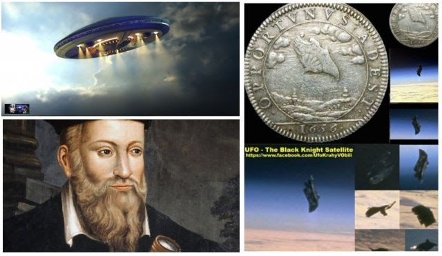 Nostradamus is quoted as saying mankind would discover a machine in space that was sent to us by the WATCHERS! in 2017!
