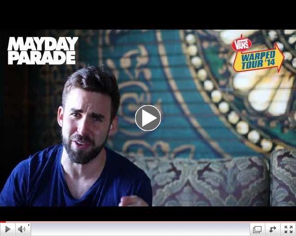 Mayday Parade - Vans Warped Tour 2014 Announcement