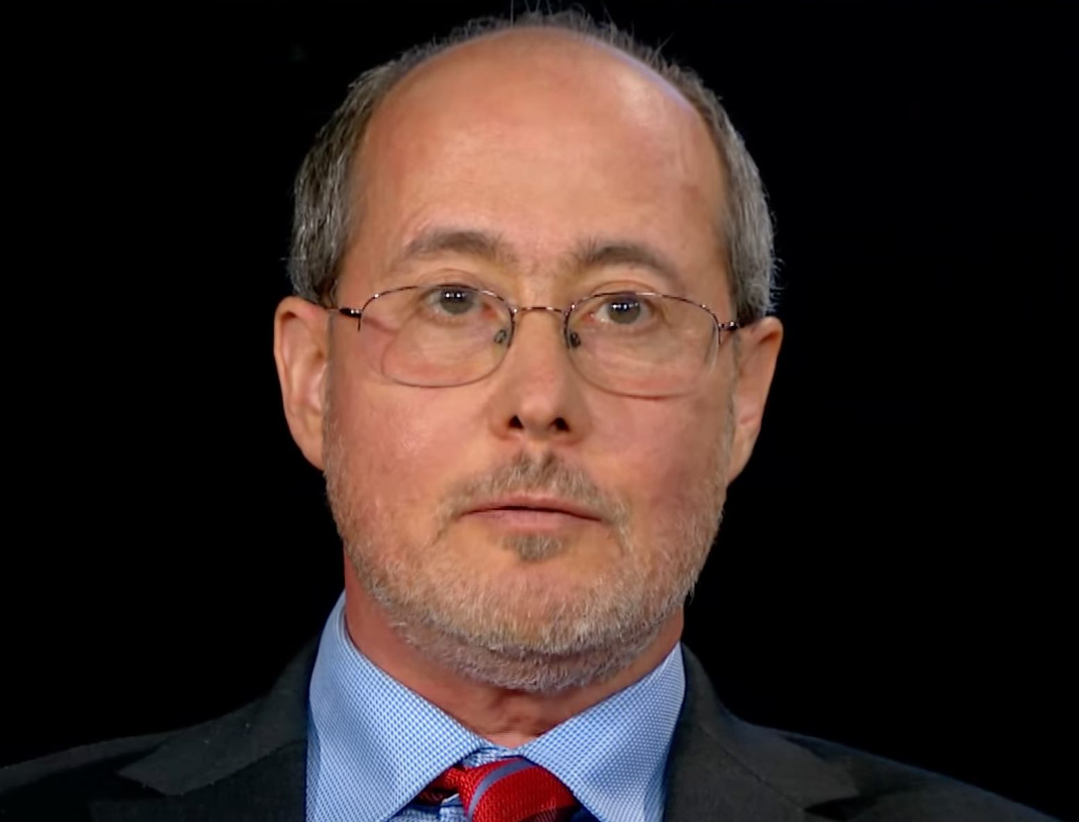 The neuroscientist Ben Barres appearing on Charlie Rose's show