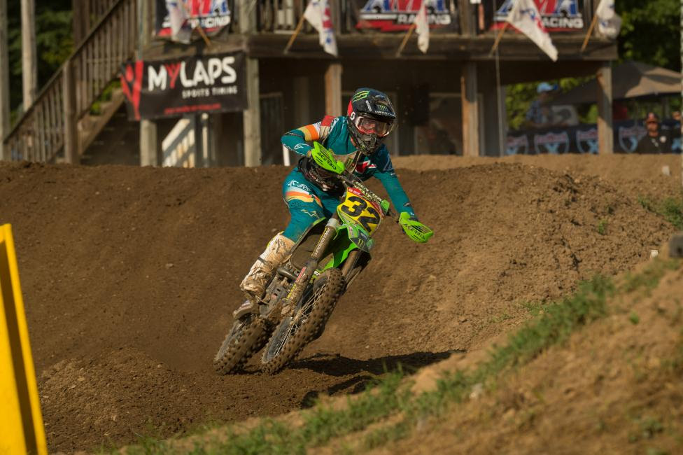 Stilez Robertson went 1-2-2 to capture the 250 B National Championship this year.