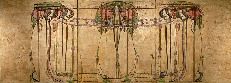 "File:""The May Queen"" de Margaret Macdonald (Glasgow) (3803689322).jpg"