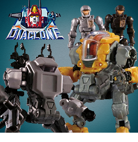 DIACLONE REBOOT DIA-NAUGHTS AND POWERED SUITS