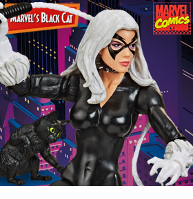 Spider-Man Marvel Legends Retro Collection Black Cat