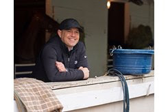 Chad Brown is feeling optimistic about his contingent for the upcoming Breeders' Cup World Championships